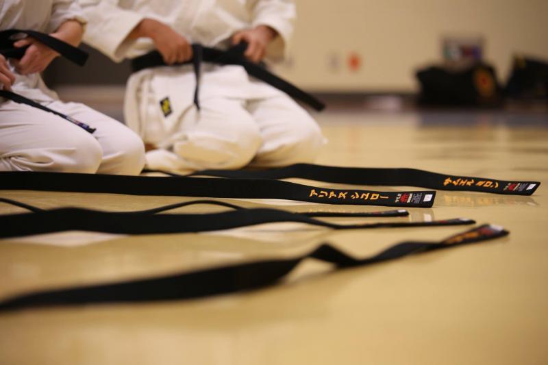 karate dla lubina, czarne pasy w karate